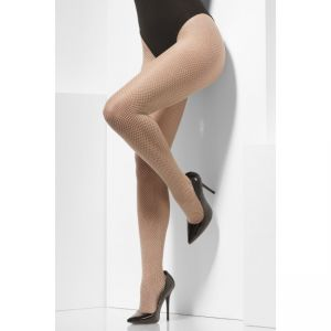 44545 - Fishnet Tights, Nude