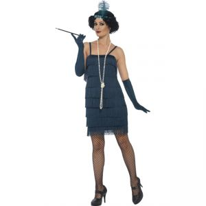 44673 - Flapper Costume, Teal