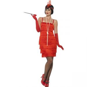 45499 - Flapper Costume, Red