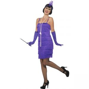 45500 - Flapper Costume, Purple