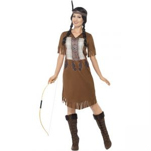 45976 - Native American Inspired Warrior Princess