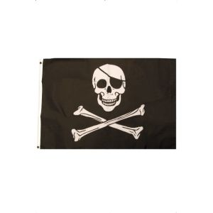 92121 - Pirate Flag, 92Cm X 61Cm