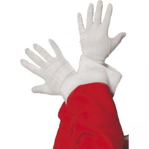 98217 - Santa Gloves, White