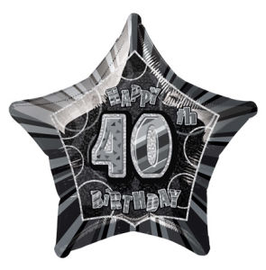 BlackHappyBdayForty POP