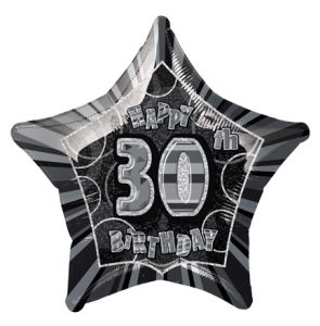 BlackHappyBdayThirty POP