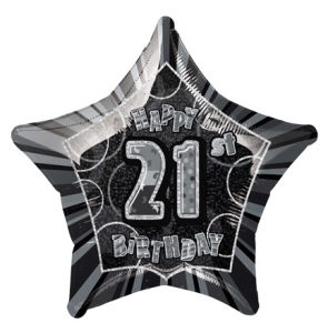 BlackHappyBdayTwentyOne POP