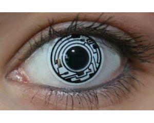 Black White Cyborg