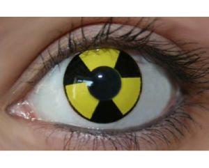Black Yellow Radiate