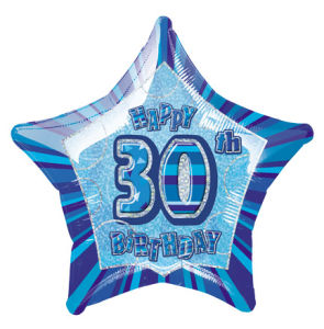 BlueHappyBdayThirty POP