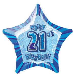 BlueHappyBdayTwentyOne POP