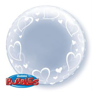 Bubble Hearts