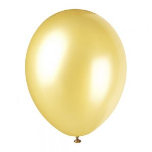 Champagne Gold 12 Inches Pearlised Premium Balloon