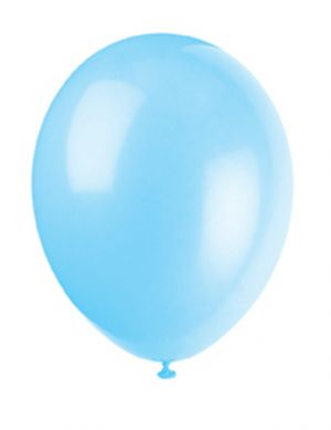 Cool Blue 12 Inches Premium Balloon
