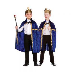 Deluxe Velvet Robe & Crown