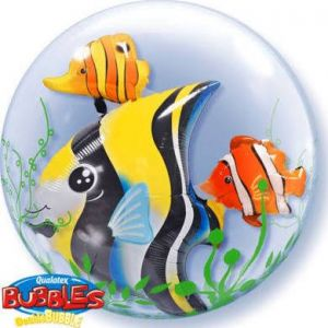 Double Bubble Balloon - Fish
