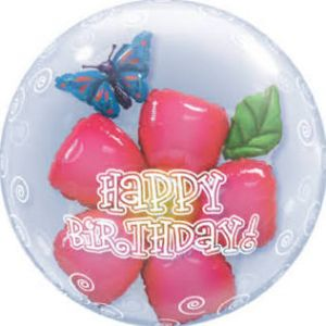 Double Bubble Balloon Flowers HB
