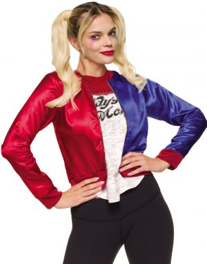 Harley Quinn Jacket With Attached Shirt