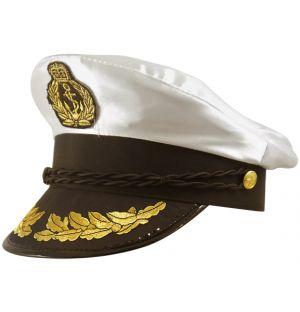Hat Captain Satin