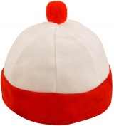 Hat Red & White