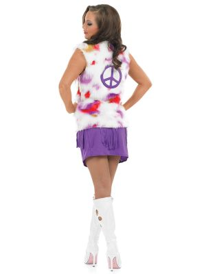 Hippie Chic Costume Back