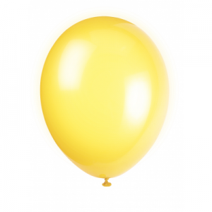 Lemon Yellow 12 Inches Premium Balloon