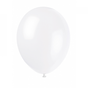 Linen White 12 Inches Premium Balloon
