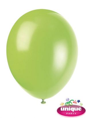 Neon Lime 12 Inches Premium Balloon