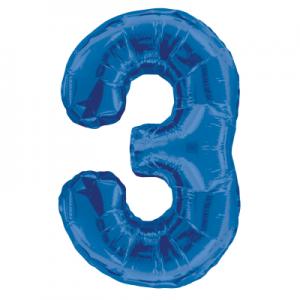Number 3, Blue