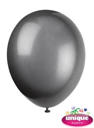 Phantom Black 12 Inches Premium Balloon