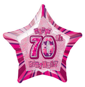 PinkHappyBdaySeventy POP