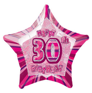 PinkHappyBdayThirty POP
