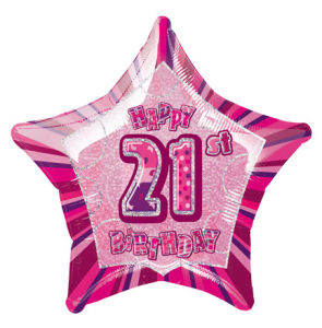 PinkHappyBdayTwentyOne POP