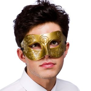 Rome Mask - Gold
