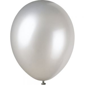 Shimmering Silver 12 Inches Pearlised Premium Balloon