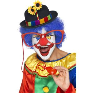 Squirting Clown Glasses