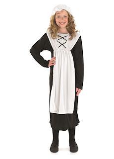 Urchin Girl - Dress & Mop Cap