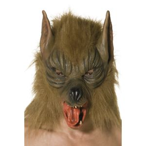 Wolf Mask - Brown