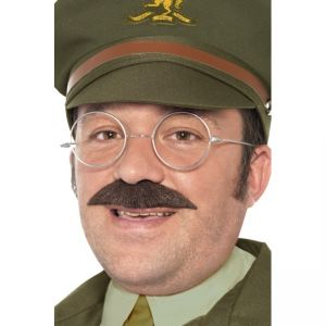 Ww2 Captain Kit, With Glasses And Moustache, Is Display Pack
