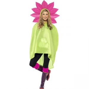 27607 - Flower Party Poncho