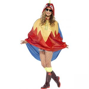 27611 - Parrot Party Poncho